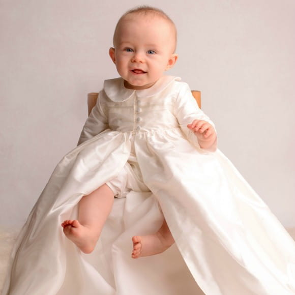 Adore Baby | Silk Christening gowns and Gorgeous Baptism Gowns for ...