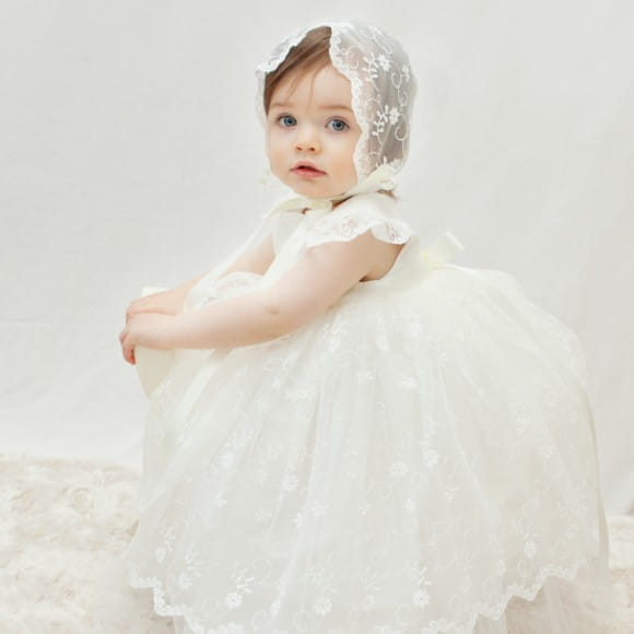 854266146 Adore Baby | Baby girls Christening or baptism outfit. Girls ...
