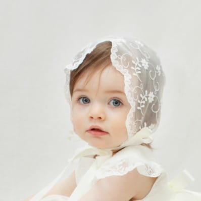 Ava Sheer Lace Bonnet c4030294a67
