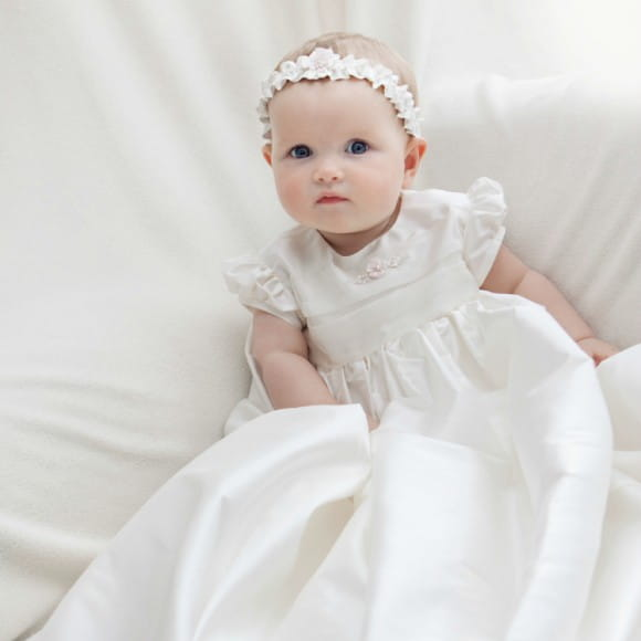 Adore Baby | Silk Christening gowns and Beautiful Baptism Gowns for ...
